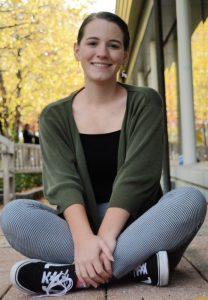 Heyl Science Scholarship recipient Maggie